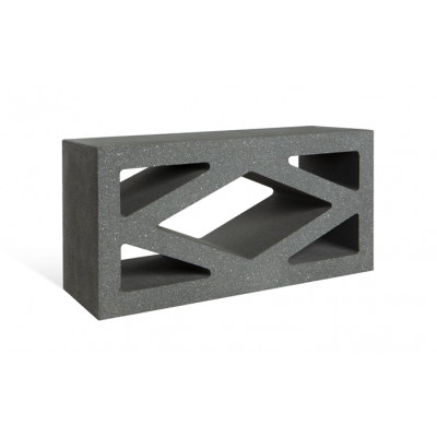 Adbri Masonry Coloured Breeze Blocks - Ebony
