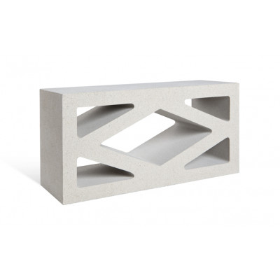 Adbri Masonry Coloured Breeze Blocks - Ivory
