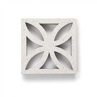 Breeze Blocks Austral Masonry - 10-908 Flower Breeze - Nickel