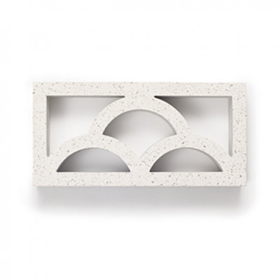 Breeze Blocks Austral Masonry - 10-938 Cloud Breeze - Nickel