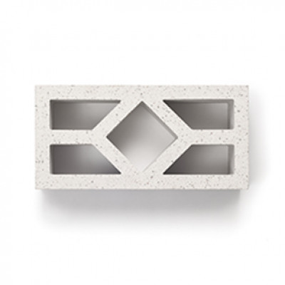 Breeze Blocks Austral Masonry - 15-936 Diamond Breeze - Porcelain